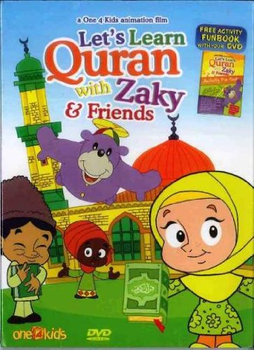 Let's Learn Quran with Zaky & Friends, DVD Cartoon
