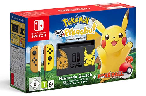 Nintendo Switch Pokémon: Let's Go, Pikachu! Bundle