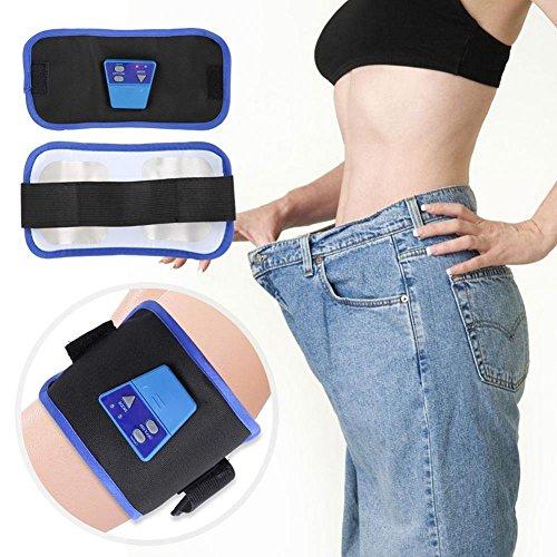 Delaman Abdominal Gürtel für Frauen Gürtel Abnehmen Abnehmen Electrostimulation Beseitigen Cellulite Ermüdung Burn Fat Massage für Bauch Schulter Oberschenkel Etc