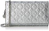 Marc Cain Damen Umhängetasche, Silber (Silver), 3x9x16 cm