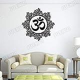 Yyoutop Símbolo Om Mandala Etiqueta de la Pared Yoga Estudio Decoración Sala de Estar...