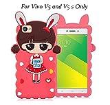 LOXXO Vivo V5/V5s -Cute Cartoon Girl Lovely Little Bush Xiaoxi Case New Painting Soft Silicone Phone Case Cover for Vivo V5/V5s Back Cover