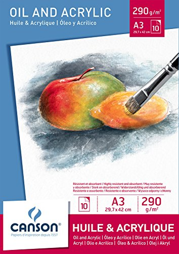 canson-oil-and-acrylic-paper-a3-pad-including-10-sheets-of-290-gsm-fine-grain-paper