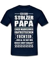 Stolzer Papa Fantastische Tochter Männer T-Shirt von Spreadshirt®