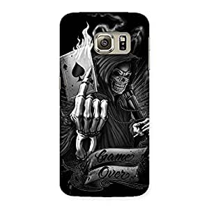 Enticing Game Over Back Case Cover for Samsung Galaxy S6 Edge