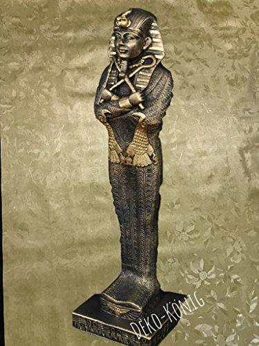 ANUBIS STEHLAMPE ÄGYPTEN MYTHOLOGIE Krieger Ägyptische Figuren Figur der Antike Lampe Anubis Pharaonen Tutanchamung Ägyptische Figur Tutanchamun Pharao Statue Skulptur Dekofigur (TOP ANGEBOT) 2857 (K110)