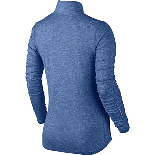 Nike Element Half Zip – top a maniche lunghe per donna azul (star blue / htr / pure platinum)