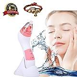 [nueva versión 2018] Jingfude Eliminación de espinillas impermeable personal diamante Microdermabrasion máquina, peeling de piel-lifting de cara-limpieza de poro-eliminación de arrugas, rosa