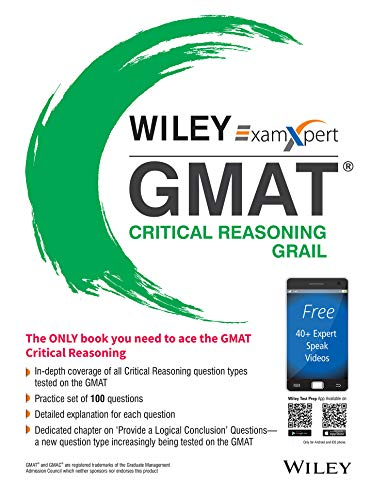 Wiley's ExamXpert GMAT Critical Reasoning Grail