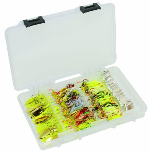 Plano FTO Spinnerbait/Buzzbait Tackle Box 3700 Größe Premium Tackle Storage -