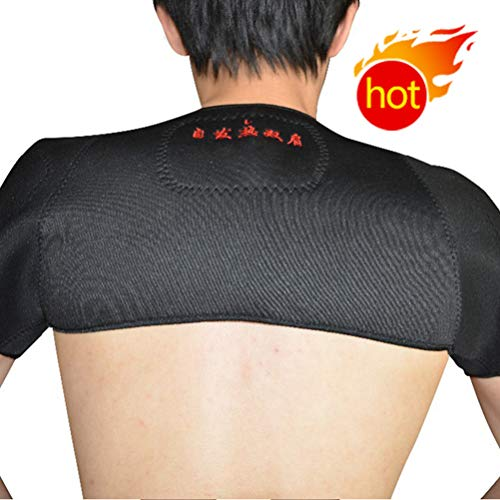 Shoulder Support Protection Brace Magnetic Tourmaline Heating Wrap Therapy Tourmaline Heat -