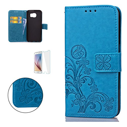 casehome-samsung-galaxy-s6-edge-wallet-fundaen-relieve-carcasa-pu-leather-cuero-suave-impresion-cove