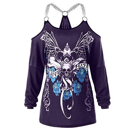 Tshirt Mujer Primavera Otoño Sin Tirantes Chic Camisas Fashion...
