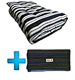 #10: Alpha Medium Soft Washable Cotton Filled Mattress/Gadda - 6 x 3 Feet Or 72 x 36 inches with Mattress/Gadda Cover