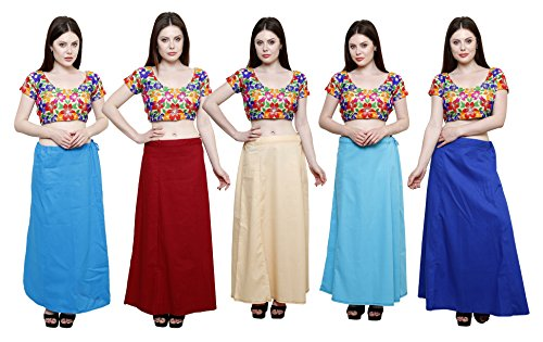 Pistaa combo of Women's Pure Cotton Turquoise Blue, Deep Maroon, Light Beige,...