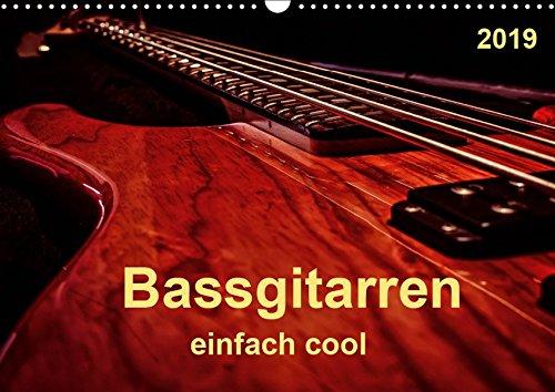 Bassgitarren - einfach cool (Wandkalender 2019 DIN A3 quer): Der Bass - erst wenn er beginnt zu spielen, fängt das Lied wirklich an. (Monatskalender, 14 Seiten ) por Peter Roder