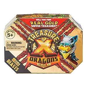 TREASURE X- Dragons Gold Mini Bestia Pack Estilos Variados, Multicolor (Moose LTD 41512)