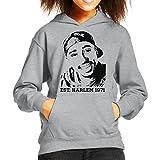 Tupac Shakur Est Harlem 1971 Kid's Hooded Sweatshirt