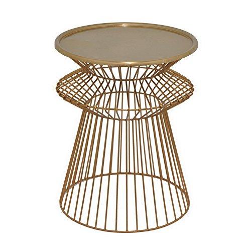 Three Hands Drei Hände Modern rund bronze Metall Accent Tisch (Beistelltisch Sunburst)