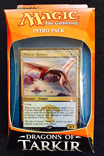 Magic The Gathering Erleuchtete Meister Intro-Kartendeck-Drachen von Tarkir (Starter Pack Magic The Gathering)