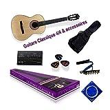 Delson PACKGRANADA2 Granada Pack de guitare classique, Noir