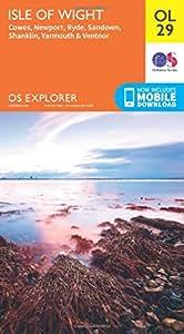 OS Explorer OL29 Isle of Wight (OS Explorer Map)
