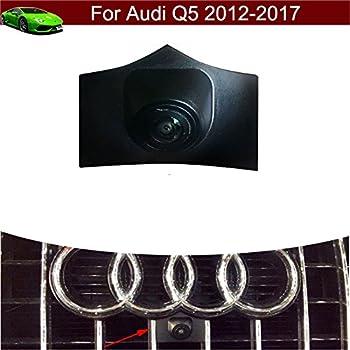 C7 A7 Q5 Q7 Q3 A4L A4 b8 4F//4G Middle Voiture Front View cam/éra Logo Embarqu/é avant cam/éra Parking /Étanche pour Audi Audi A6