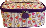 Hello Kitty Vintage Floral Cosmetic Vanity Case