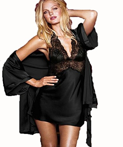 sex-play-bretelle-pizzo-con-scollo-a-v-camicia-da-notte-blackl