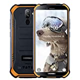 "DOOGEE S40 Smartphone - IP68/IP69K Impermeabile Robusto Outdoor Cellulari Offerte Android 9.0 MTK6739 Quad Core Display da 5,5"" 3GB+32GB 4650 mAh 8,0 MP Fingerprint Face Sblocco NFC Orange"