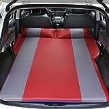 YZ-YUAN Aufblasbare Matratze Doppelbett-Tragbares Dickeres Auto-Bett Für Selbstfahrende Reise Im Freien, Luft-Bett Einschließlich Elektrische Luftmatratze Für Autos,Red