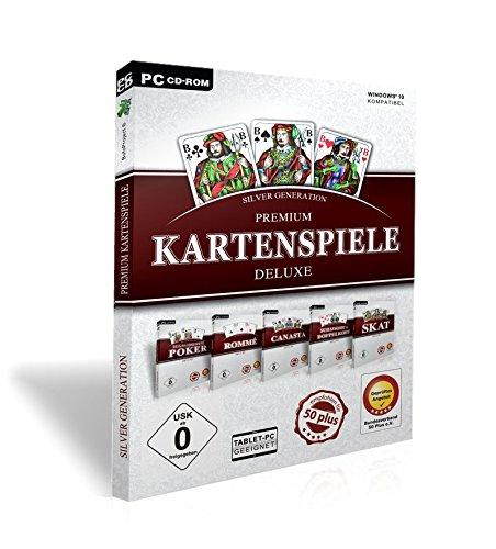 Silver Generation Kartenspiele Deluxe 2017 (Poker Für Pc Spiele)