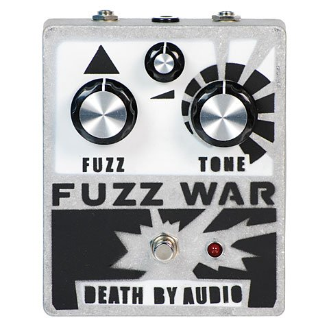 Death By Audio Fuzz War · Pedal guitarra eléctrica