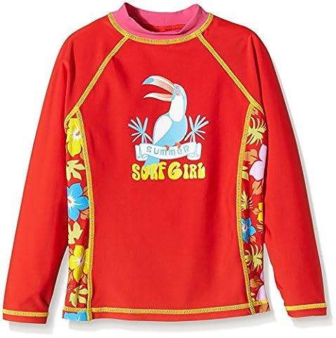 Aquatinto Girl's Swim Shirt