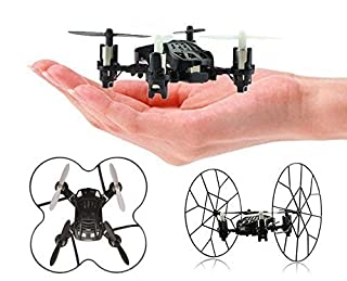 Top Race Tr-MQ3 Rc Remote Control 4Channel Mini Micro Rolling Quadcopter Wheels Wall Climb & Flip, Flying Drones Kids Adults Children Toys Age 3 + Years Old Indoor Outdoor, Black (B00QSFM5O0)   Amazon price tracker / tracking, Amazon price history charts, Amazon price watches, Amazon price drop alerts