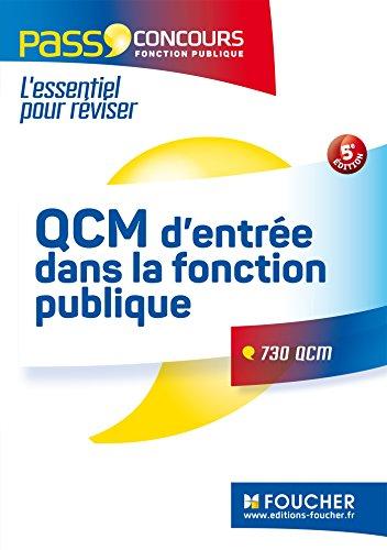 Pass'Concours - QCM d'entre dans la fonction publique 5e dition