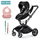 Hot Mom Limited Edition Kombikinderwagen mit Buggyaufsatz und Babywanne 3-in-1...