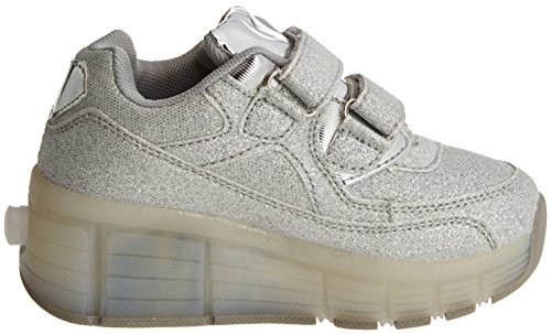 Beppi Casual 2151330, Chaussures de sport fille Argenté