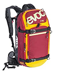 EVOC Rucksack Aufsatz Zip-On Abs-Pro Team, Orange-Ruby, 56 x 27 x 12 cm