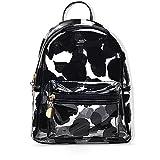 Teeya multi - colore pvc zaino scuola zaino outdoor zaino, bello zaino satchel, trasparente / a / multi tasche / leggero