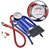#4: Shreeji Ethnic 2018 Portable High Air Pressure Heavy Compressor Foot Pump Air Pump Novel Style Air Foot Pump for Bike, Car, Bicycles