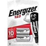 Batterie Energizer 123 Lithium Photo, confezione da 2
