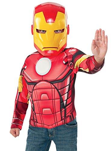 Rubie s itg31529-Kostüm für Kinder Set Iron Man mit Muskeln, S