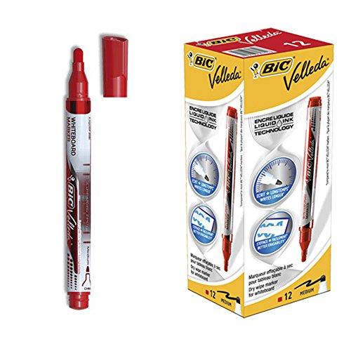 bic-velleda-marcador-de-tinta-liquida-borrado-en-seco-caja-de-12-unidades-color-rojo