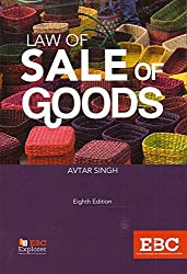 Eastern Book Company's Law of Sale of Goods by Avtar Singh