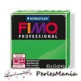 perlesmania.com Hobby Creativi: 1Pane Pate Fimo Professional Verde 85GR ref 8004–5