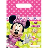 Minnie Mouse Party - Minnie Bow-Tique Party Loot Bags x 6