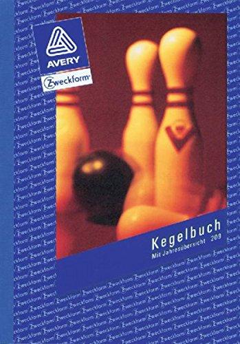 Preisvergleich Produktbild Avery Zweckform 209 5er Sparpack Kegelbuch, DIN A5, mit Statuten, 52 Blatt, weiß
