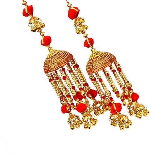 Mansiyaorange Red Punabi Kalire for Women