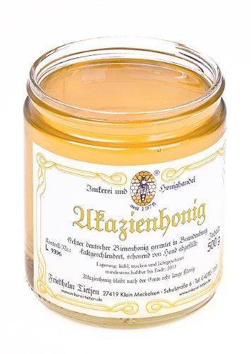 Akazienhonig 500g – mildes Aroma, naturbelassen (von Imkerei Nordheide)